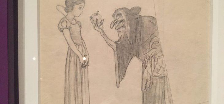 Exposición: El arte de contar historias, Disney