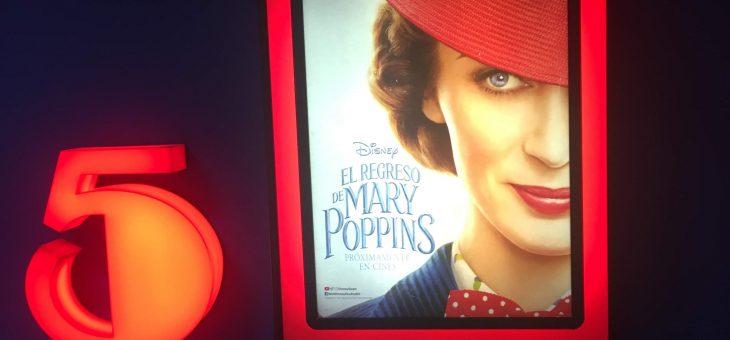 Cine Disney: El regreso de Mary Poppins